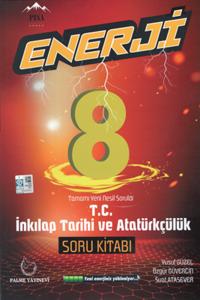 8. Sınıf Enerji T.C İnkılap Tarihi ve Atatürkçülük Tamamı Yeni Nesil Soru Kitabı