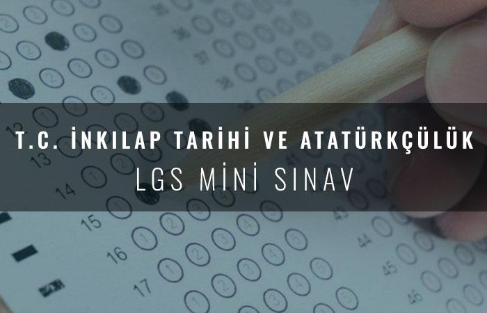 8.Sınıf LGS Mini Sınav