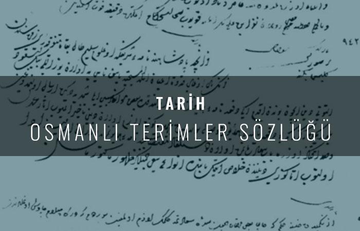 Osmanlı Terimler Sözlüğü