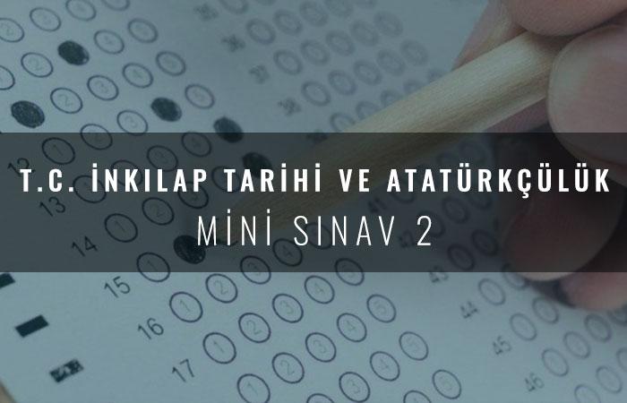 8. Sınıf Mini Sınav 2